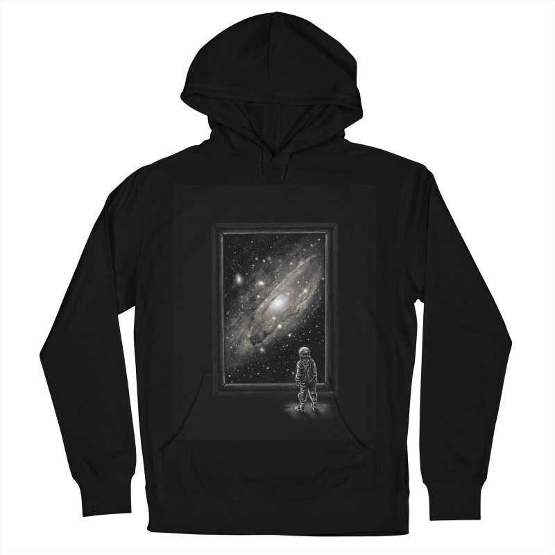 Looking Through a Masterpiece Men's Pullover Hoody by nicebleed