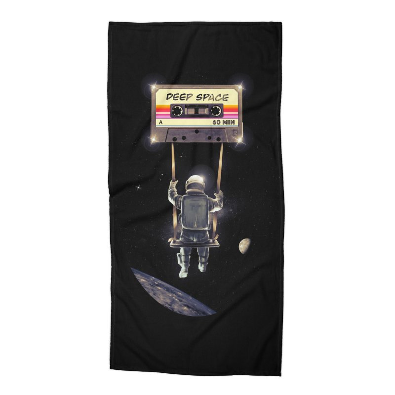 Deep Space Mix Tape Accessories Beach Towel by nicebleed