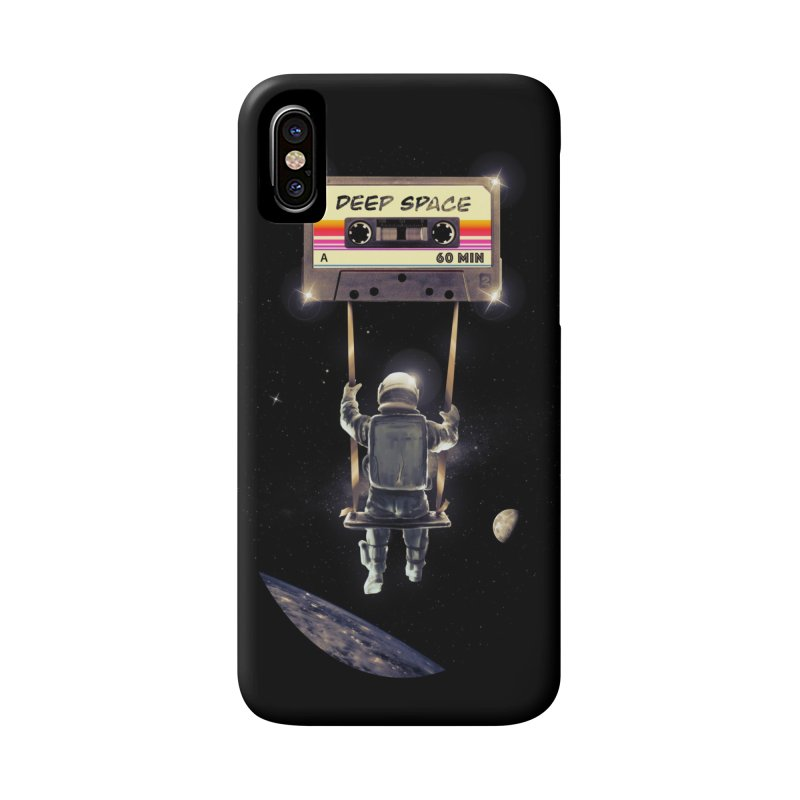 Deep Space Mix Tape Accessories Phone Case by nicebleed