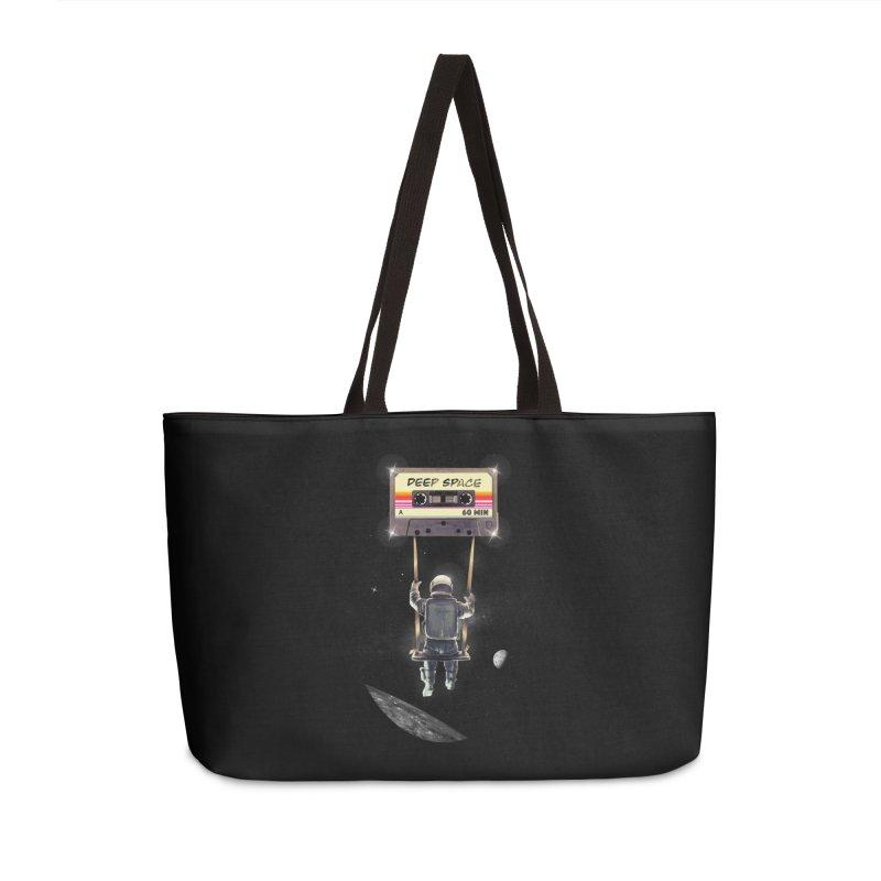 Deep Space Mix Tape Accessories Weekender Bag Bag by nicebleed