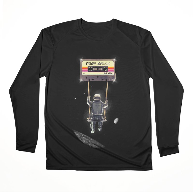 Deep Space Mix Tape Men's Performance Longsleeve T-Shirt by nicebleed