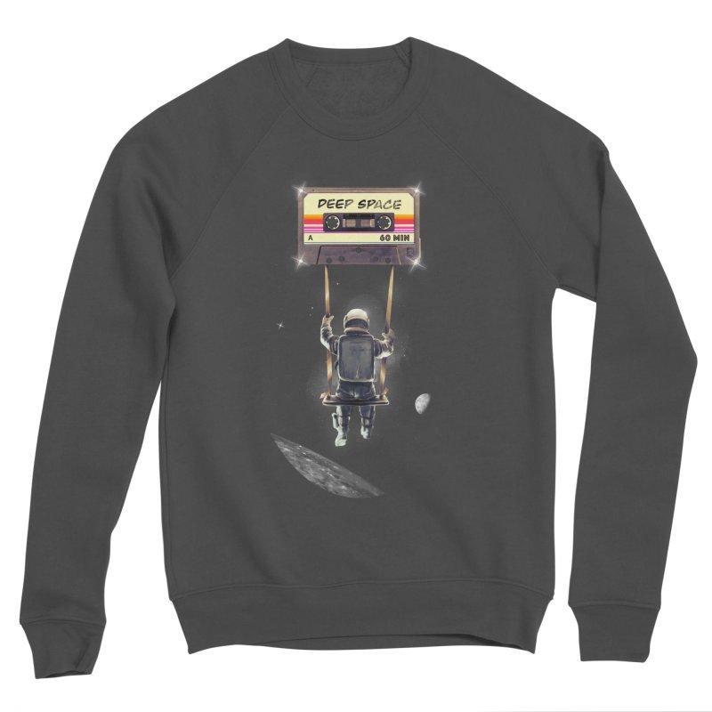 Deep Space Mix Tape Women's Sponge Fleece Sweatshirt by nicebleed