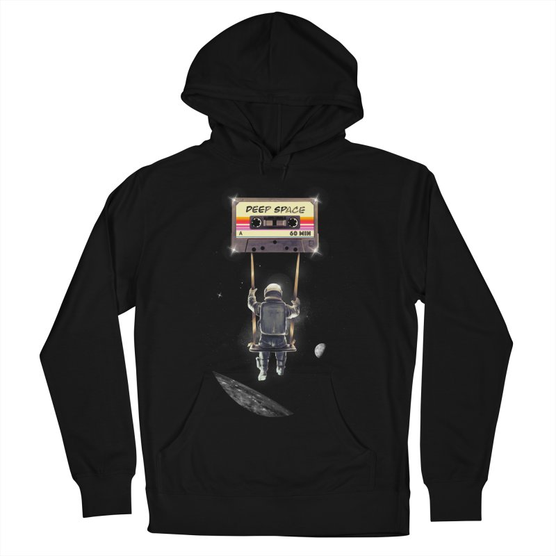 Deep Space Mix Tape Women's French Terry Pullover Hoody by nicebleed
