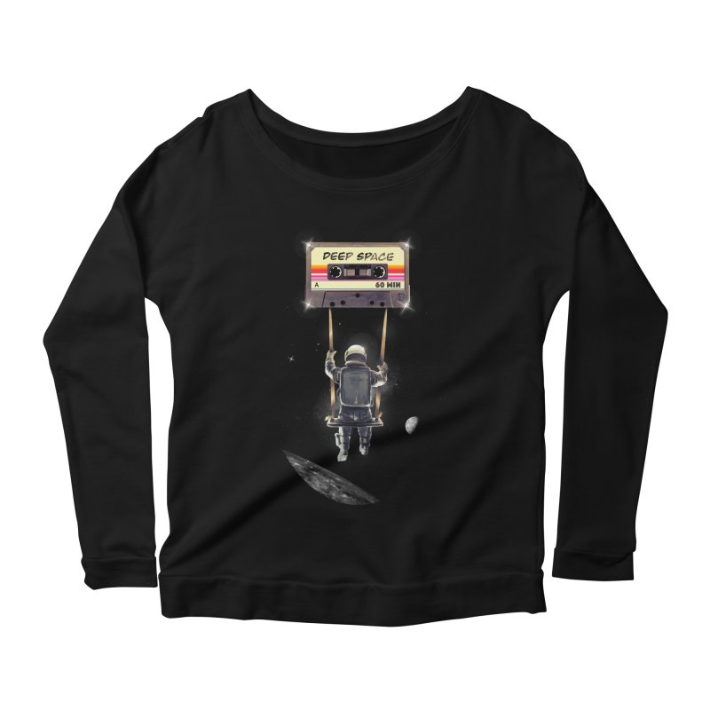Deep Space Mix Tape Women's Longsleeve T-Shirt by nicebleed