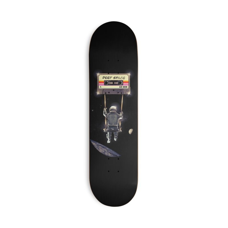 Deep Space Mix Tape Accessories Deck Only Skateboard by nicebleed