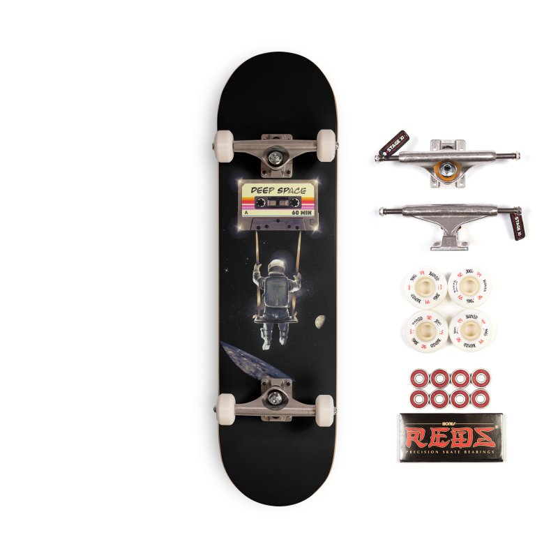 Deep Space Mix Tape Accessories Complete - Pro Skateboard by nicebleed
