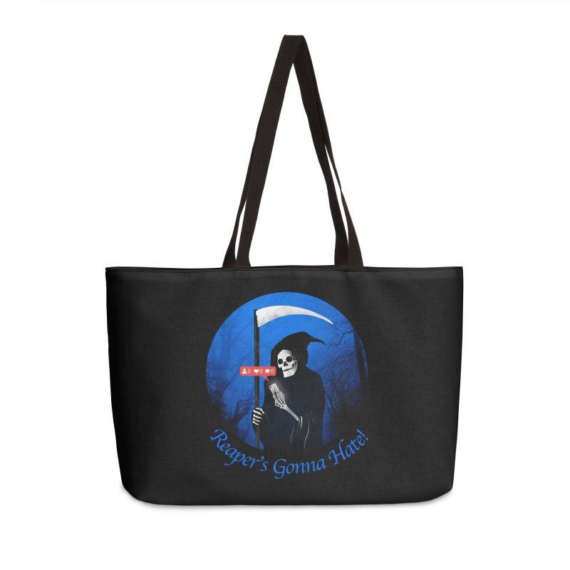 Reaper's Gonna Hate! Accessories Weekender Bag Bag by nicebleed