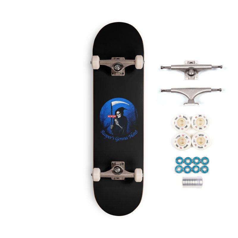 Reaper's Gonna Hate! Accessories Complete - Premium Skateboard by nicebleed
