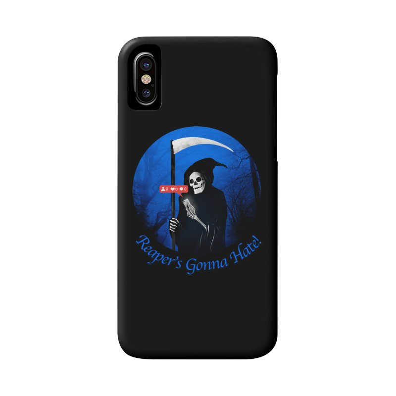 Reaper's Gonna Hate! Accessories Phone Case by nicebleed