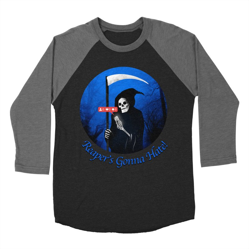 Reaper's Gonna Hate! Women's Baseball Triblend Longsleeve T-Shirt by nicebleed