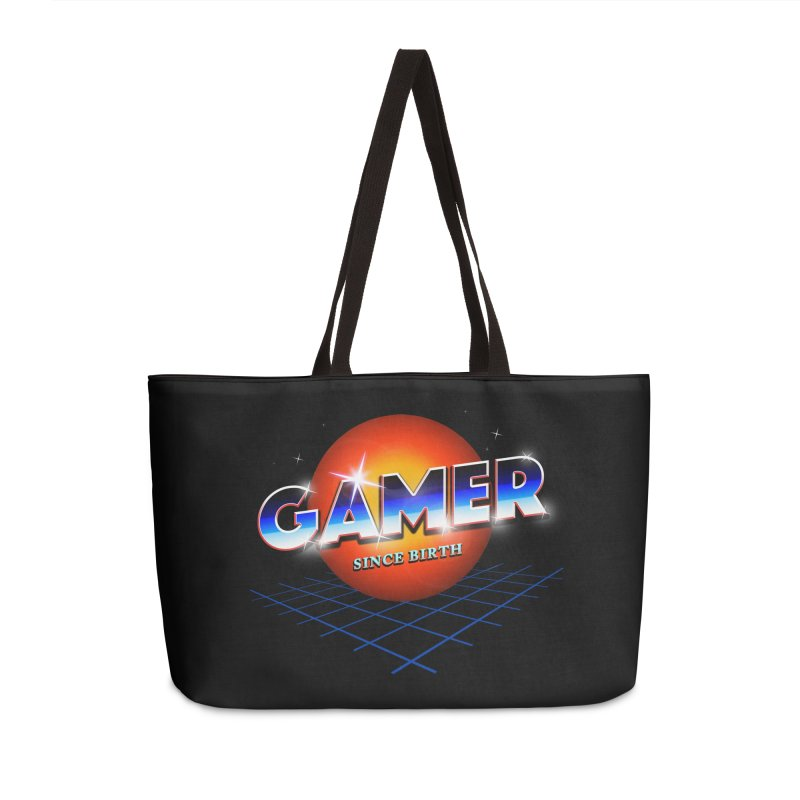 Gamer Accessories Weekender Bag Bag by nicebleed