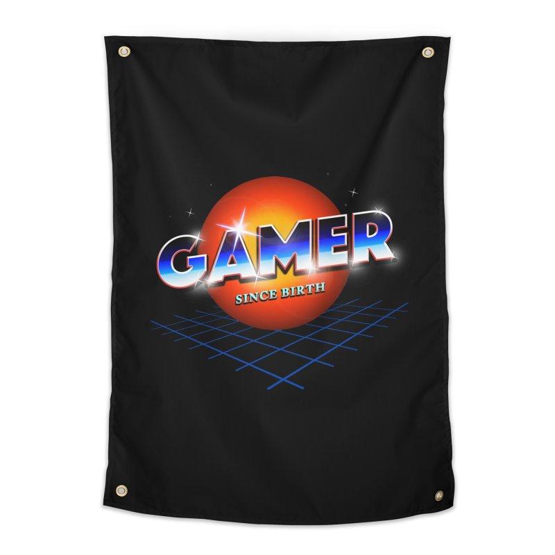 Gamer Home Tapestry by nicebleed