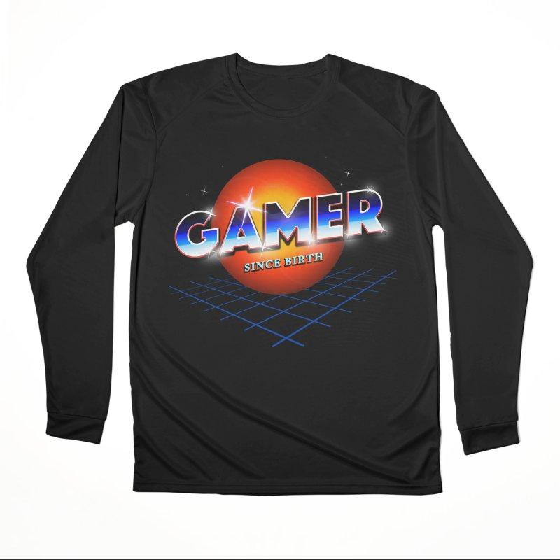 Gamer Men's Performance Longsleeve T-Shirt by nicebleed