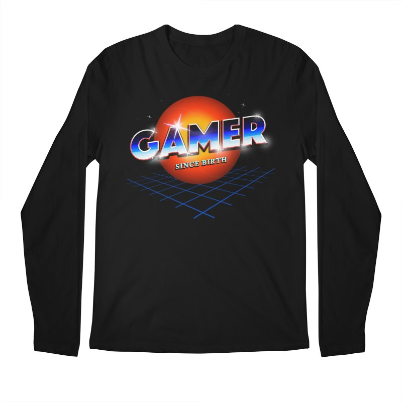 Gamer Men's Regular Longsleeve T-Shirt by nicebleed