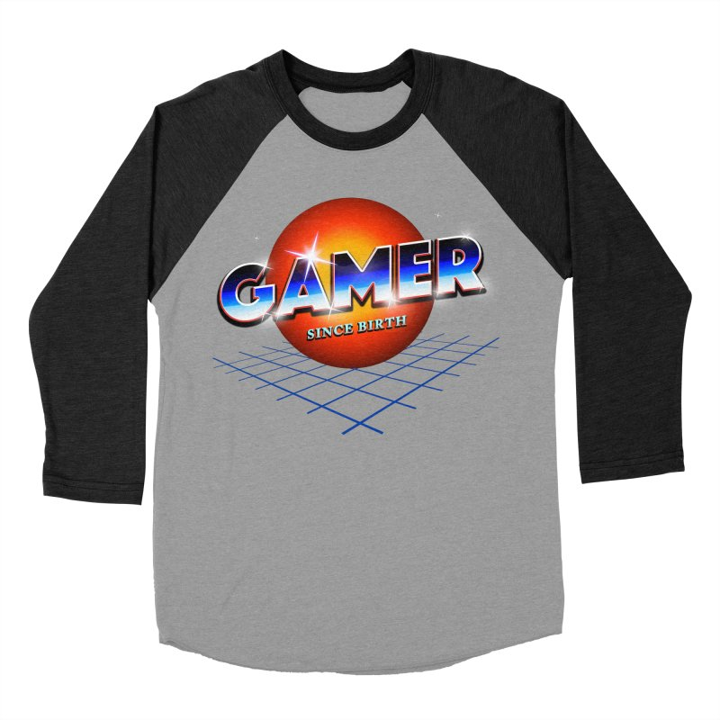 Gamer Women's Baseball Triblend Longsleeve T-Shirt by nicebleed