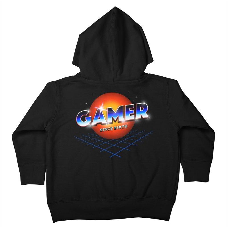 Gamer Kids Toddler Zip-Up Hoody by nicebleed