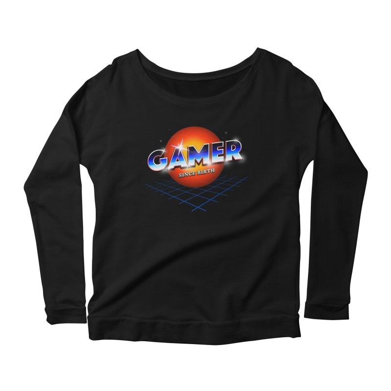 Gamer Women's Scoop Neck Longsleeve T-Shirt by nicebleed