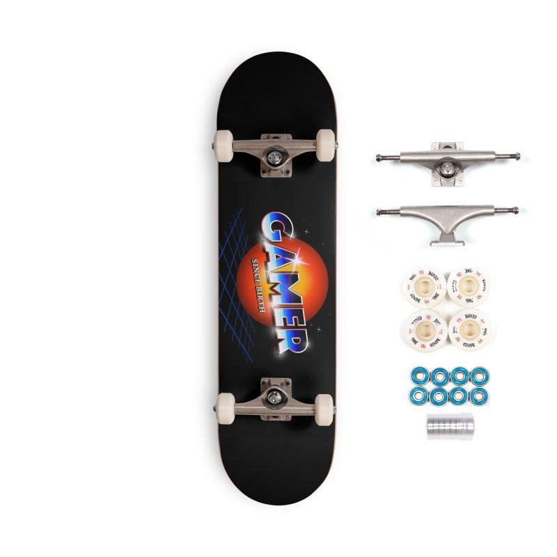 Gamer Accessories Complete - Premium Skateboard by nicebleed