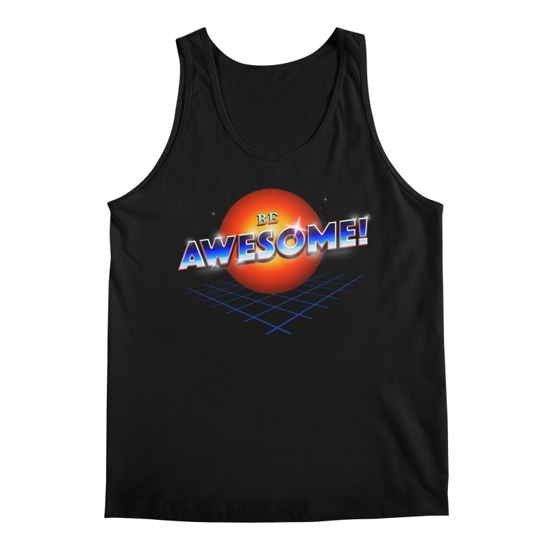 Be Awesome! Men's Regular Tank by nicebleed