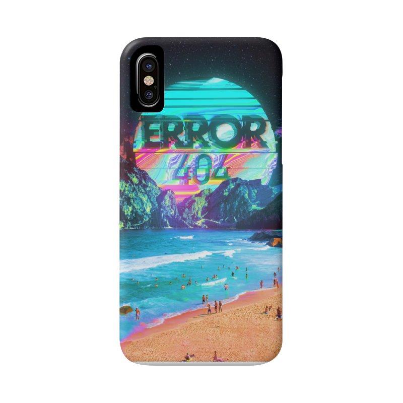 Error 404 Accessories Phone Case by nicebleed