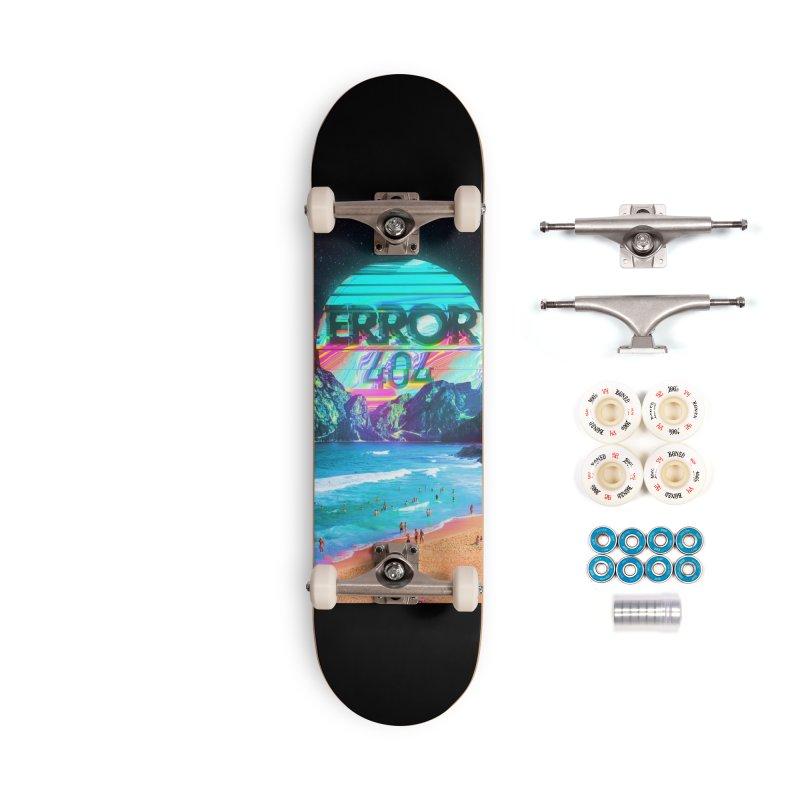 Error 404 Accessories Complete - Premium Skateboard by nicebleed