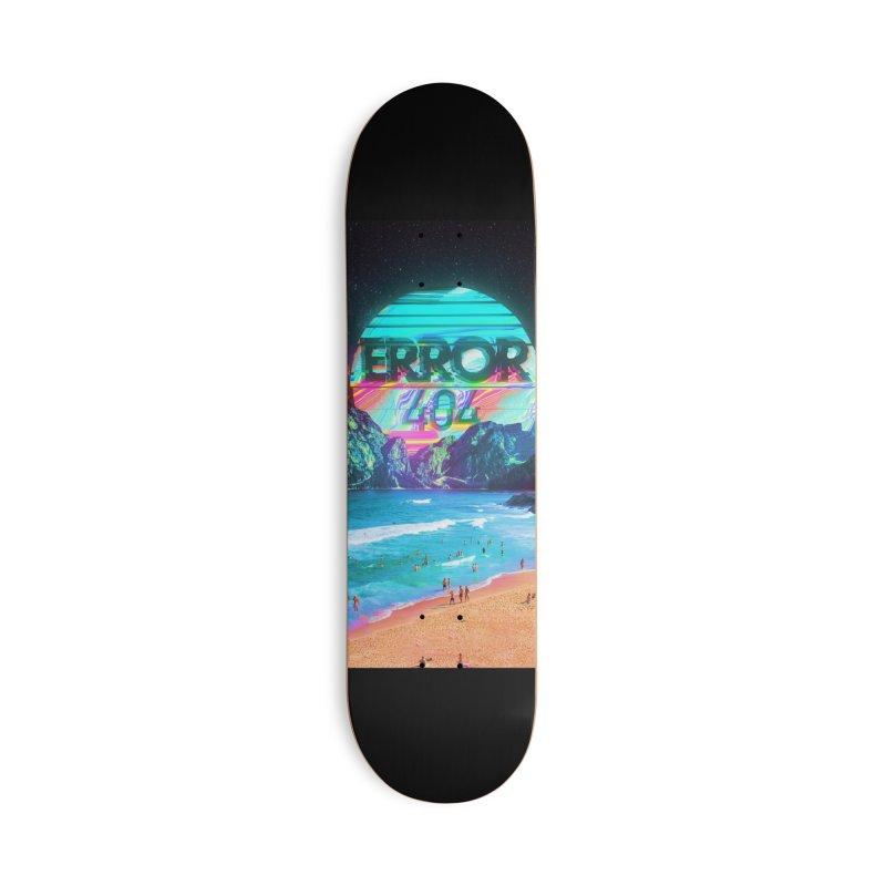 Error 404 Accessories Deck Only Skateboard by nicebleed