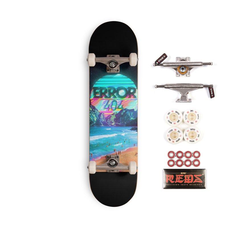 Error 404 Accessories Complete - Pro Skateboard by nicebleed