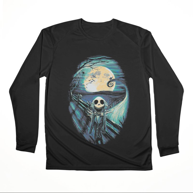 The Scream Before Christmas Men's Performance Longsleeve T-Shirt by nicebleed