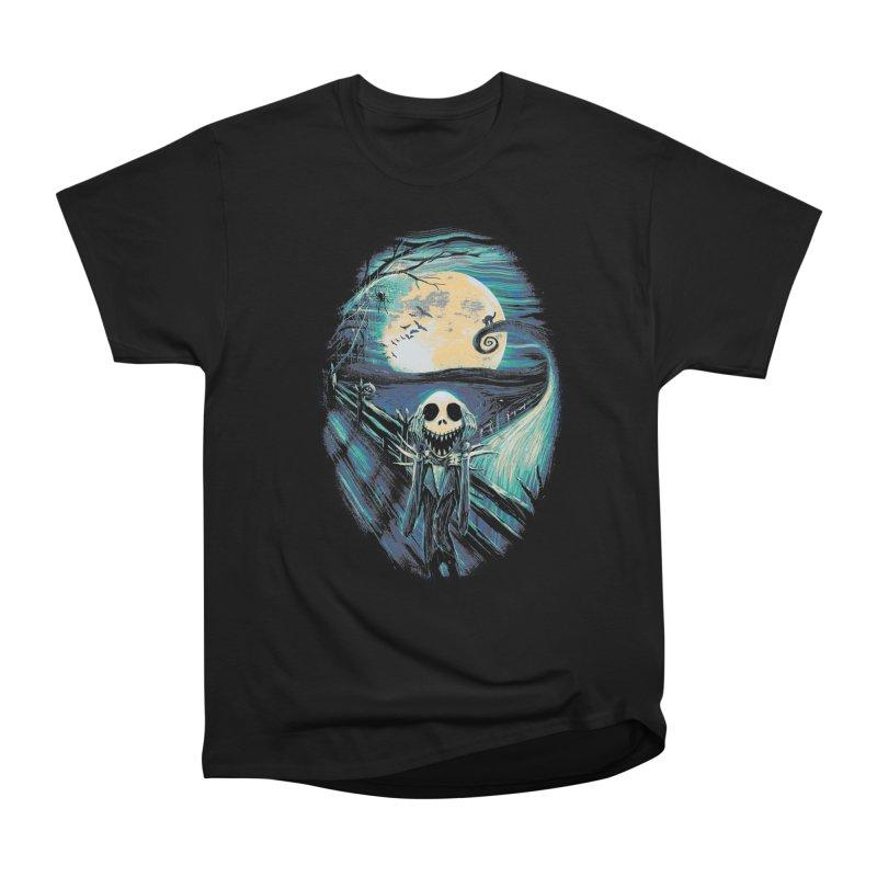The Scream Before Christmas Men's Heavyweight T-Shirt by nicebleed