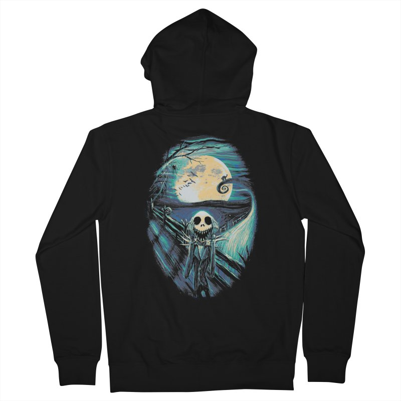 The Scream Before Christmas Women's French Terry Zip-Up Hoody by nicebleed