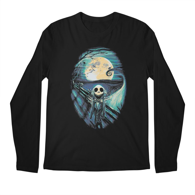 The Scream Before Christmas Men's Regular Longsleeve T-Shirt by nicebleed