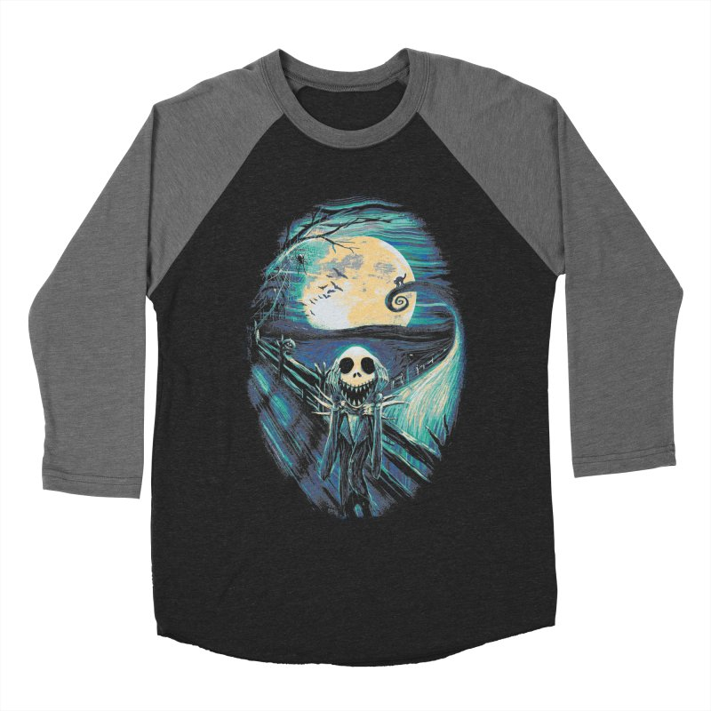 The Scream Before Christmas Women's Baseball Triblend Longsleeve T-Shirt by nicebleed