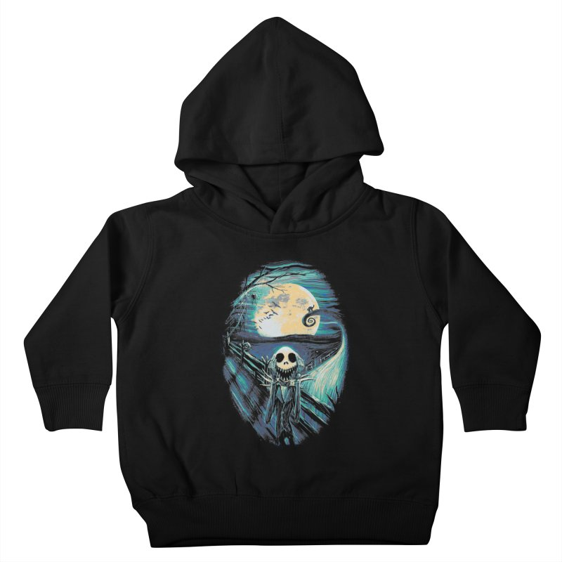 The Scream Before Christmas Kids Toddler Pullover Hoody by nicebleed