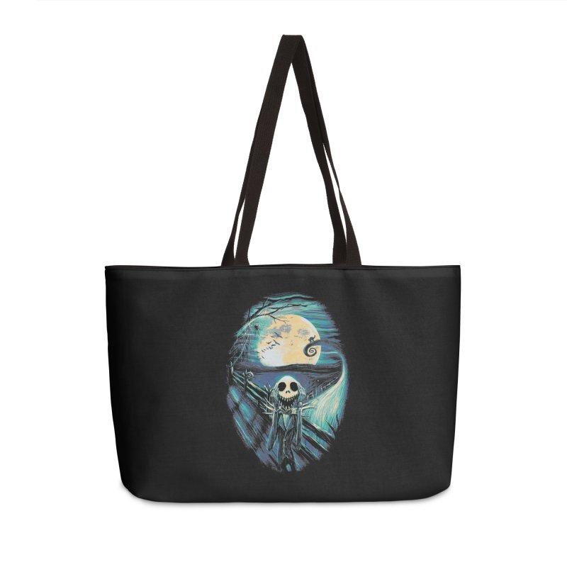 The Scream Before Christmas Accessories Weekender Bag Bag by nicebleed