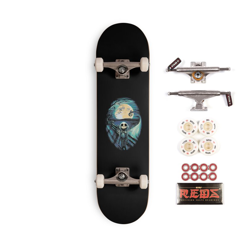The Scream Before Christmas Accessories Complete - Pro Skateboard by nicebleed