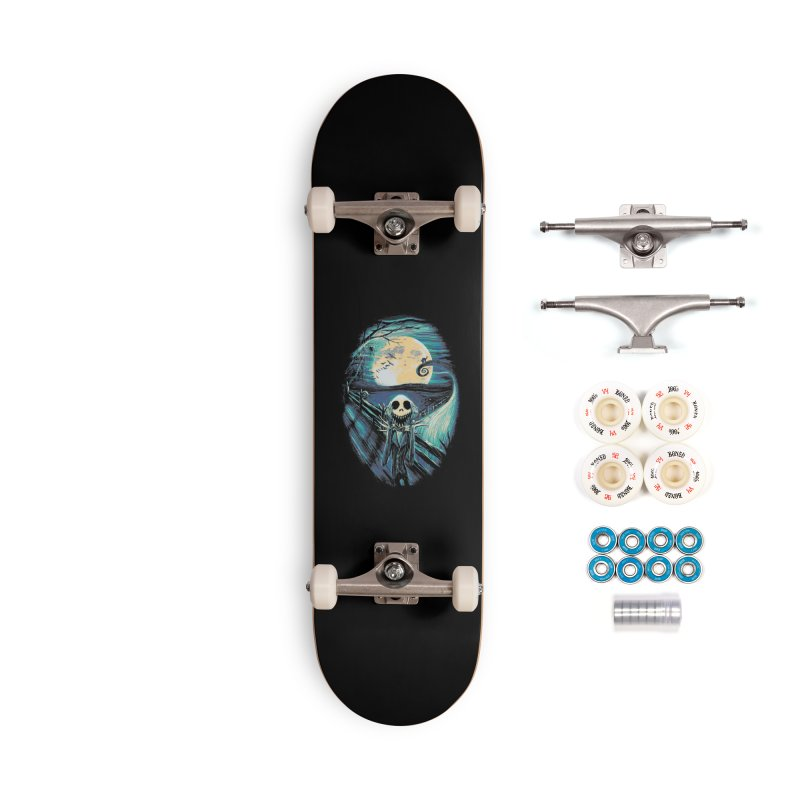 The Scream Before Christmas Accessories Complete - Premium Skateboard by nicebleed