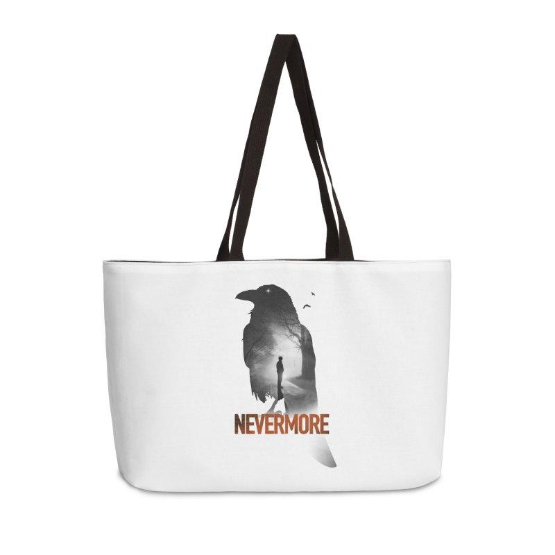 Nevermore Accessories Weekender Bag Bag by nicebleed