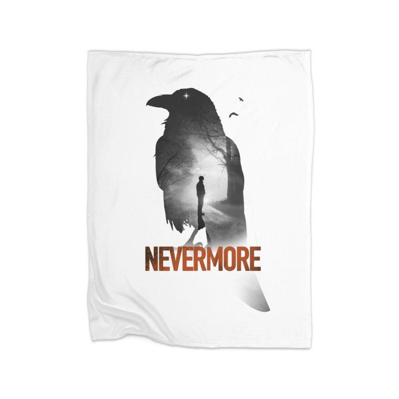 Nevermore Home Fleece Blanket Blanket by nicebleed
