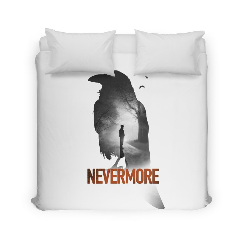 Nevermore Home Duvet by nicebleed