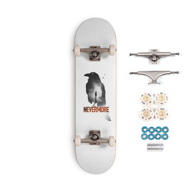 Nevermore Accessories Complete - Premium Skateboard by nicebleed