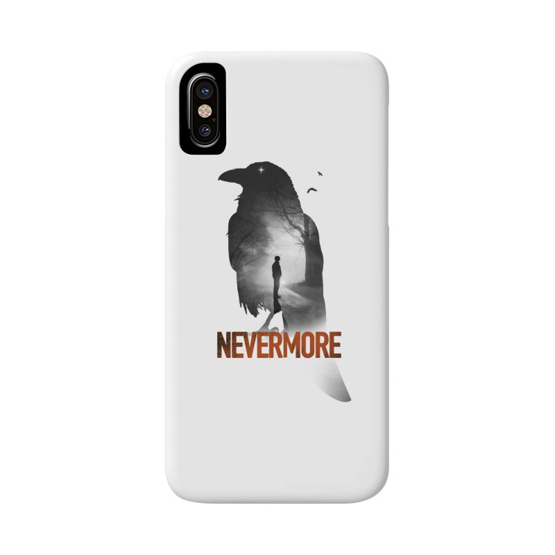 Nevermore Accessories Phone Case by nicebleed