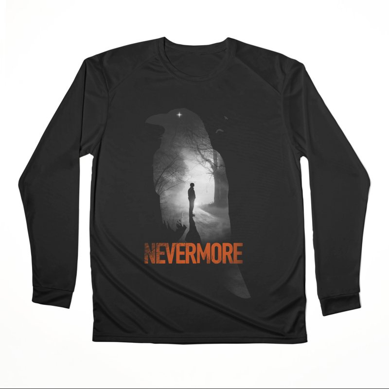 Nevermore Men's Performance Longsleeve T-Shirt by nicebleed