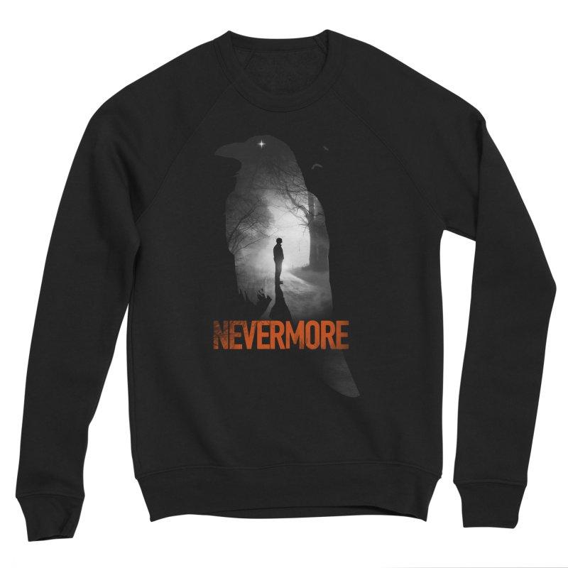 Nevermore Women's Sponge Fleece Sweatshirt by nicebleed
