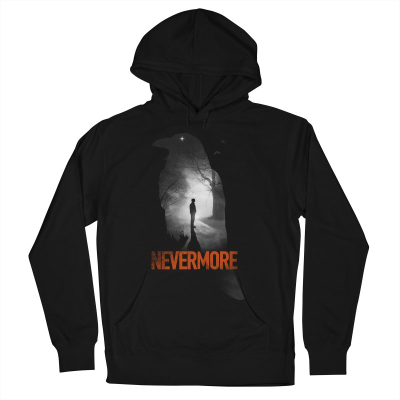 Nevermore Women's French Terry Pullover Hoody by nicebleed