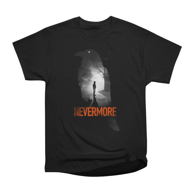 Nevermore Men's Heavyweight T-Shirt by nicebleed