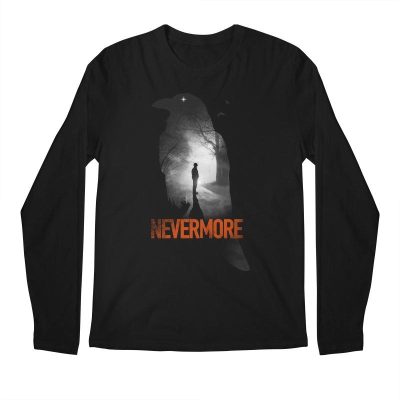 Nevermore Men's Regular Longsleeve T-Shirt by nicebleed