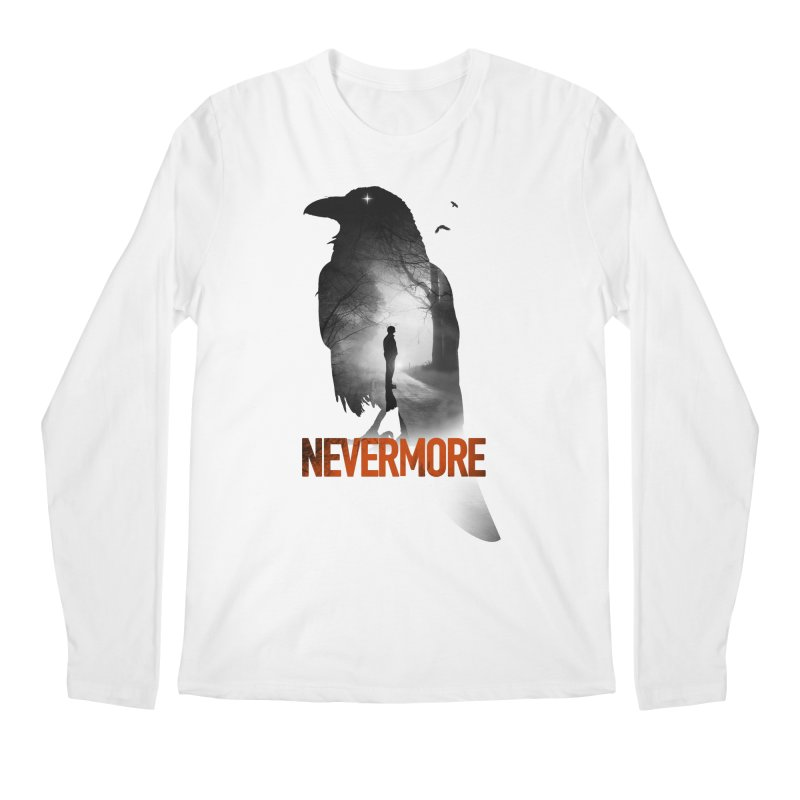 Nevermore Men's Regular Longsleeve T-Shirt by nicebleed