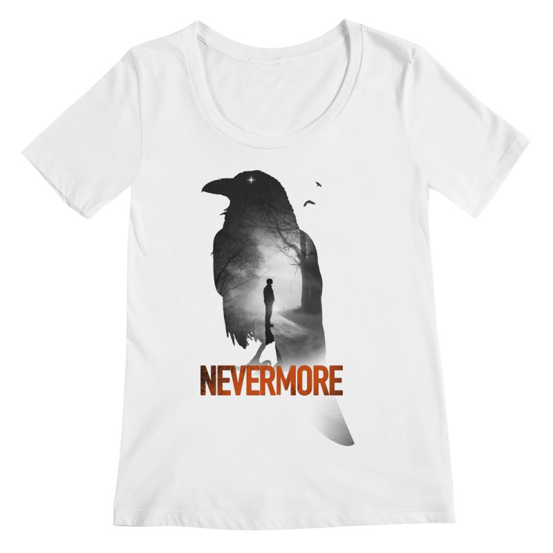 Nevermore Women's Regular Scoop Neck by nicebleed