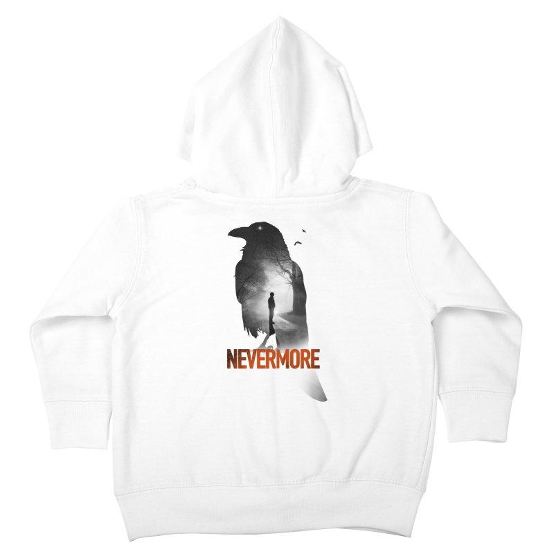 Nevermore Kids Toddler Zip-Up Hoody by nicebleed
