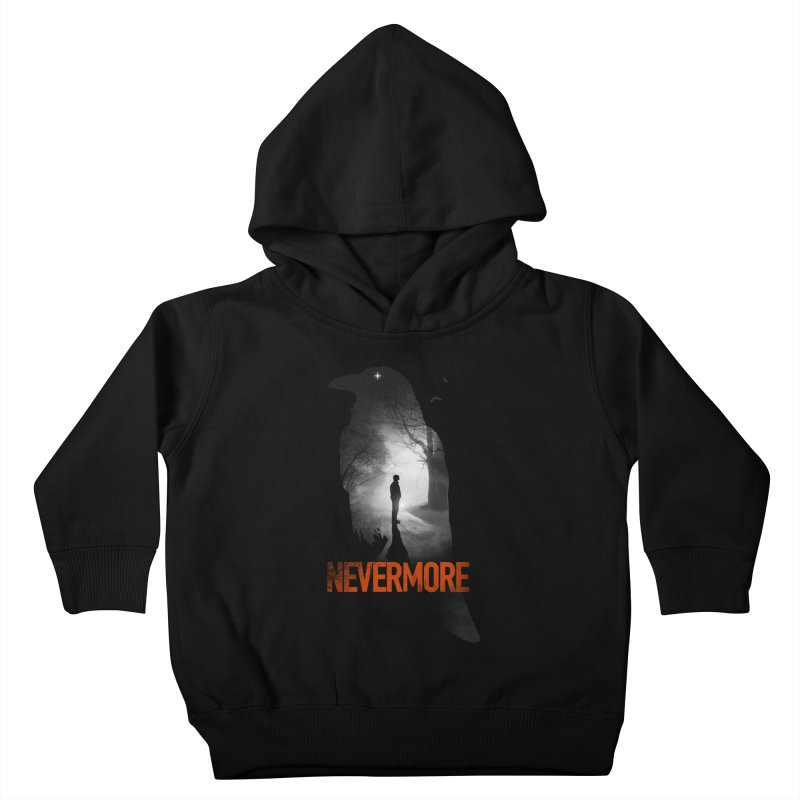 Nevermore Kids Toddler Pullover Hoody by nicebleed